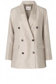 Second Female |  Linen blazer Lia | beige  | Picture 1
