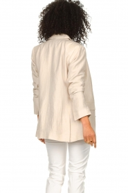 Second Female |  Linen blazer Lia | beige  | Picture 8