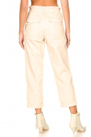 Magali Pascal |  Paperbag ankle pants Jackson | nude  | Picture 8