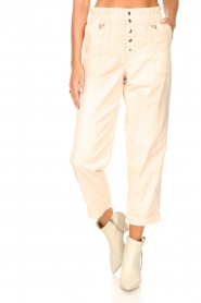 Magali Pascal |  Paperbag ankle pants Jackson | nude  | Picture 4