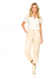 Magali Pascal |  Paperbag ankle pants Jackson | nude  | Picture 3