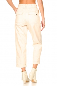 Magali Pascal |  Paperbag ankle pants Jackson | nude  | Picture 7