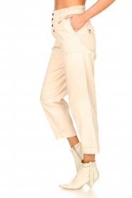 Magali Pascal |  Paperbag ankle pants Jackson | nude  | Picture 5