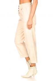 Magali Pascal |  Paperbag ankle pants Jackson | nude  | Picture 6