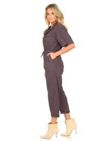 Magali Pascal :  Jumpsuit with buckle detail Dylan | black - img4