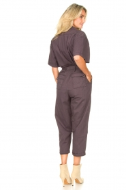 Magali Pascal :  Jumpsuit with buckle detail Dylan | black - img5