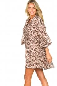 Magali Pascal | Shirt dress met print Glory | roze   | Afbeelding 5
