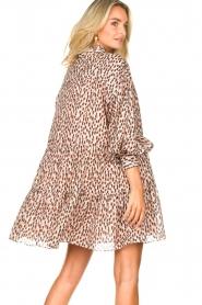 Magali Pascal | Shirt dress met print Glory | roze   | Afbeelding 6