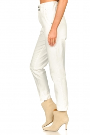 Magali Pascal |  Paperbag jeans Sisley | white  | Picture 7