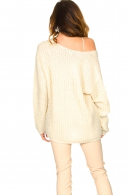 Set |  Chunky knitted sweater Saar | natural  | Picture 6
