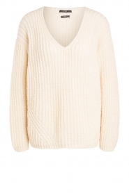 Set |  Chunky knitted sweater Saar | natural  | Picture 1