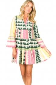 Devotion |  Cotton dress with print Ella | pink  | Picture 6