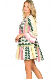 Devotion |  Cotton dress with print Ella | pink  | Picture 4