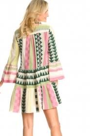 Devotion |  Cotton dress with print Ella | pink  | Picture 5