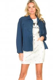 Lois Jeans |  Denim blouse Row | blue  | Picture 2