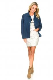 Lois Jeans |  Denim blouse Row | blue  | Picture 3