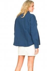 Lois Jeans |  Denim blouse Row | blue  | Picture 7