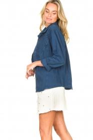 Lois Jeans |  Denim blouse Row | blue  | Picture 6