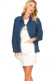 Lois Jeans |  Denim blouse Row | blue  | Picture 4
