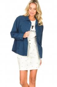 Lois Jeans |  Denim blouse Row | blue  | Picture 5