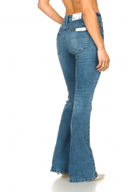 Lois Jeans |  High waisted flare jeans Raval | blue  | Picture 6