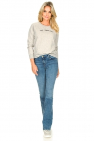 Lois Jeans |  L34 High waist flared jeans Raval | blue  | Picture 3