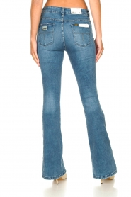 Lois Jeans |  L34 High waist flared jeans Raval | blue  | Picture 9
