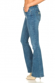 Lois Jeans |  L34 High waist flared jeans Raval | blue  | Picture 7