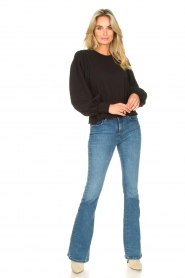 Lois Jeans |  L34 High waist flared jeans Raval | blue  | Picture 5
