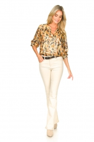 Lois Jeans :  L34 High waist flared jeans Raval | natural - img3