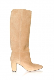 Toral |  High suede boots Christy | beige  | Picture 1