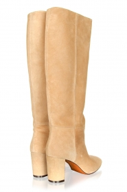 Toral |  High suede boots Christy | beige  | Picture 5