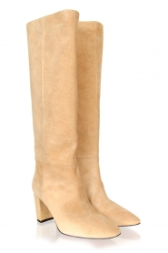 Toral |  High suede boots Christy | beige  | Picture 4