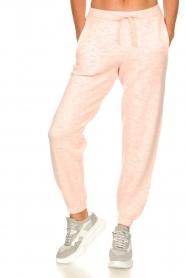 American Vintage    Merino wool sweatpants Tadbow   baby pink    Picture 4