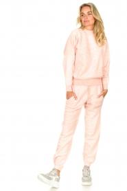 American Vintage    Merino wool sweatpants Tadbow   baby pink    Picture 3