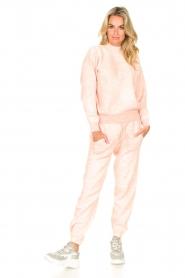 American Vintage    Merino wool sweatpants Tadbow   baby pink    Picture 2