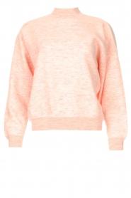 American Vintage | Merinowol sweater Tadbow | baby roze  | Afbeelding 1