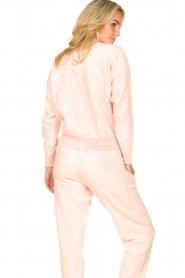 American Vintage | Merinowol sweater Tadbow | baby roze  | Afbeelding 6