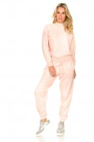 American Vintage | Merinowol sweater Tadbow | baby roze  | Afbeelding 3