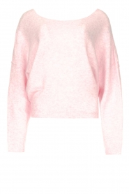 American Vintage |  Knitted sweater Damsville | baby pink