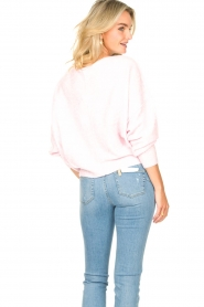 American Vintage |  Knitted sweater Damsville | baby pink  | Picture 5