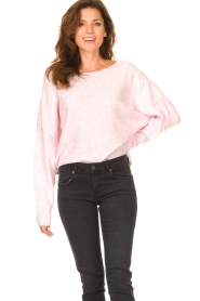 American Vintage |  Knitted sweater Damsville | baby pink  | Picture 4