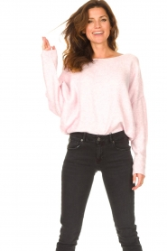American Vintage |  Knitted sweater Damsville | baby pink  | Picture 7