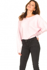 American Vintage |  Knitted sweater Damsville | baby pink  | Picture 2