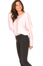 American Vintage |  Knitted sweater Damsville | baby pink  | Picture 6