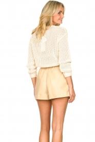 American Vintage |  Cotton broderie sweater Fafpark | ecru  | Picture 7