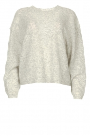 American Vintage |  Knitted sweater Razpark | grey  | Picture 1
