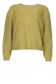 American Vintage |  Knitted sweater Razpark | green  | Picture 1