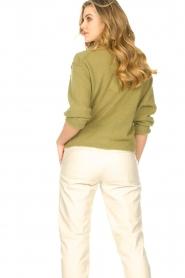 American Vintage | Gebreide sweater Razpark | groen   | Afbeelding 6