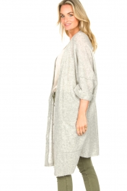 American Vintage |  Basic oversized cardigan Razpark | grey  | Picture 5